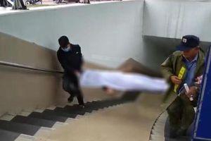 Phát hiện thi thể người đàn ông trong hầm đi bộ Kim Liên, Hà Nội