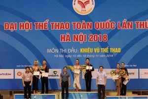 Hà Nội nhất toàn đoàn môn Khiêu vũ thể thao tại Đại hội Thể thao toàn quốc lần thứ 8