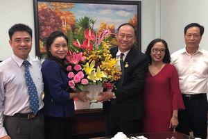 Thứ trưởng Trịnh Thị Thủy thăm và chúc mừng cơ sở đào tạo trực thuộc Bộ VHTTDL ở phía Nam