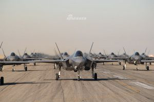 Màn trình diễn 'Voi đi bộ' hoành tráng chưa từng thấy của tiêm kích tàng hình F-35