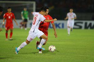 Việt Nam 0-0 Myanmar: Nhập cuộc thận trọng (H1)