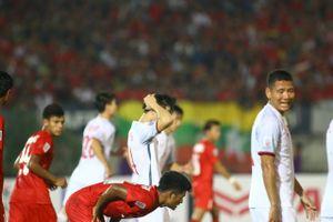 Bất lực tìm bàn thắng, Việt Nam chia điểm Myanmar