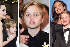 Con gái tom boy Angelina Jolie ngày càng ra dáng con trai chững chạc