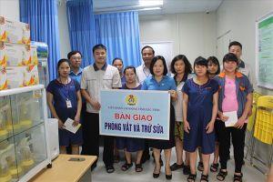 LĐLĐ tỉnh Bắc Ninh: Truyền thông kiến thức nuôi con bằng sữa mẹ cho nữ công nhân lao động