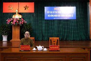 Ông Cang không tiếp cử tri vì đi họp ở Hà Nội