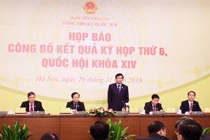 Kỳ họp thứ 6, Quốc hội khóa XIV thành công tốt đẹp