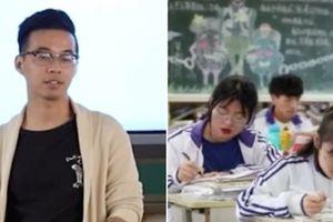 Thầy giáo khiến dân mạng TQ xôn xao khi ghi lại chu kỳ kinh nguyệt của nữ sinh