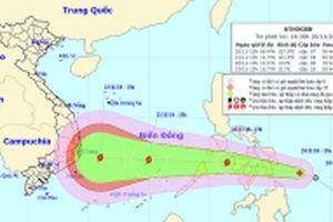 Áp thấp nhiệt đới mới khả năng mạnh thành bão