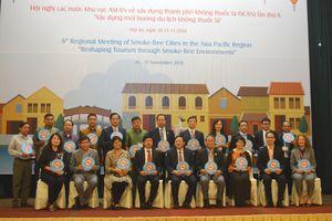 Hội nghị các nước khu vực ASEAN về xây dựng thành phố không khói thuốc lá (SCAN) lần thứ 6