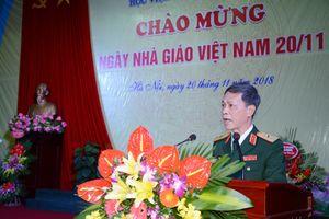 Học viện Kỹ thuật quân sự kỷ niệm ngày Nhà giáo Việt Nam