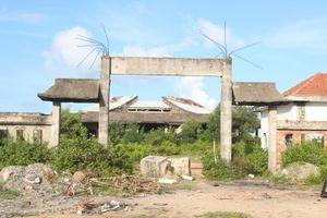 Nhà hỏa táng xây dựng dở dang, lãng phí