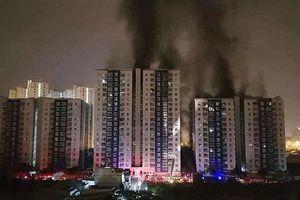 Vụ cháy chung cư Carina: Cấm đi khỏi nơi cư trú đối với nguyên Tổng giám đốc Công ty Hùng Thanh