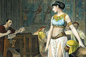 Giải mã cực sốc về cái chết của nữ hoàng Cleopatra