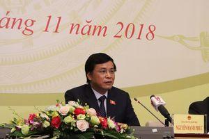 Họp báo về kết quả Kỳ họp thứ 6, Quốc hội khóa XIV
