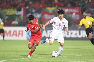 Myanmar 0-0 Việt Nam: 1 điểm quý giá từ Thuwunna tặng thầy Park