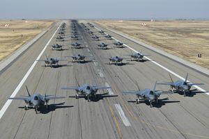 35 chiến đấu cơ F-35A của Mỹ cùng diễn tập tác chiến