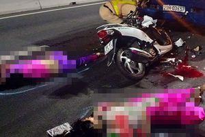 Hai cô gái trẻ chết thảm trên cầu Cao Lãnh