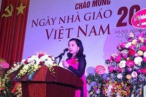 Trường ĐH Luật Hà Nội tổ chức Lễ kỷ niệm ngày Nhà giáo Việt Nam