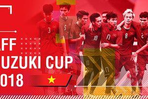 Lịch thi đấu AFF Cup 2018 của Việt Nam hôm nay 20/11