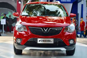 Cận cảnh mẫu xe ô tô giá rẻ Fadil của Vinfast trước giờ công bố