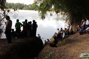 Đã tìm thấy thi thể 3 học sinh đuối nước trên sông Lam