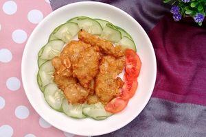 Cách làm gà tẩm đậu phộng giòn rụm nhâm nhi ngày lạnh