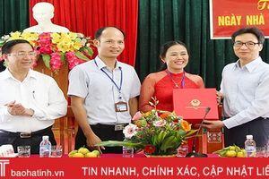 Phó Thủ tướng Chính phủ Vũ Đức Đam thăm, làm việc tại Hà Tĩnh