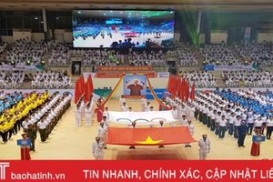 80 VĐV Hà Tĩnh tham dự Đại hội TDTT toàn quốc lần thứ VIII