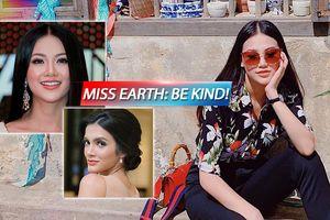 Bị Hoa hậu Hòa bình Quốc tế cười chê nhan sắc, Miss Earth và Phương Khánh chia sẻ điều gì?
