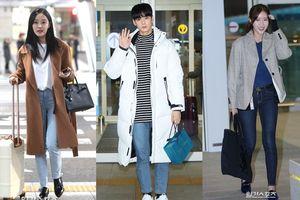 Sao Hàn tại sân bay 20/11: Hyomin (T-ARA) đến Nha Trang, Cha Eun Woo cùng Im Soo Hyang lên đường sang Trung Quốc
