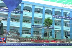 Tập trung cứu chữa học sinh bị thương trong vụ sập giàn giáo tại TP HCM