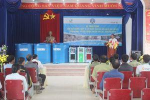 Tân Á Đại Thành trao tặng bồn nước cho người dân vùng sạt lở tỉnh Hòa Bình