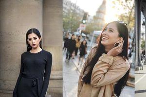Không cần váy áo lộng lẫy, hoa hậu Tiểu Vy vẫn 'hút ánh nhìn' với street style cá tính
