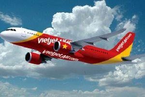 Máy bay Vietjet Air từ TP.HCM đi Hà Nội quay lại sân bay khẩn cấp vì sự cố