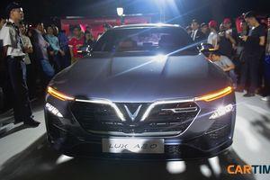 VinFast công bố giá bán xe sedan Lux A 2.0
