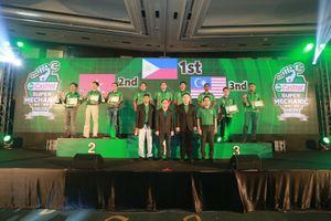 Đội Việt Nam đoạt Á quân cuộc thi 'Siêu thợ máy Châu Á - Thái Bình Dương 2018'