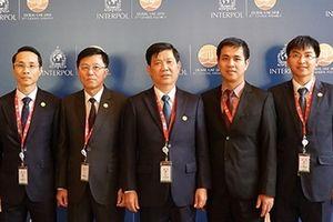 Đoàn đại biểu Bộ Công an Việt Nam tham dự Kỳ họp Đại Hội Đồng Interpol lần thứ 87