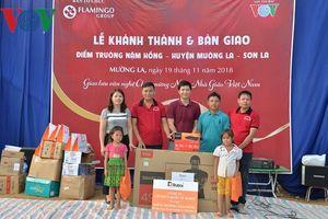 Mường La, Sơn La đón điểm trường mới nhân ngày Nhà giáo Việt Nam