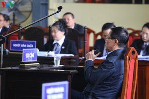Bị cáo Phan Văn Vĩnh: 'Có lỗi nên tôi mới ngồi đây'