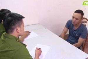 Giây phút điên cuồng của nam thanh niên đâm trọng thương 2 cảnh sát giao thông ở Thái Bình