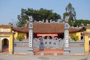Bộ VHTTDL thỏa thuận Dự án tu bổ, tôn tạo di tích Đình Tri Yếu tại Hải Phòng