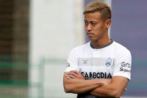 Keisuke Honda chuẩn bị sẵn phương án cho trận gặp Việt Nam
