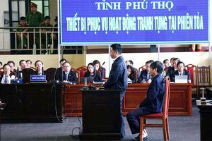Nguyễn Văn Dương 'phản pháo' lời khai của cựu Thiếu tướng Nguyễn Thanh Hóa