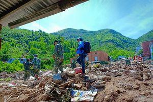 Vẫn đang nỗ lực tìm người mất tích tại thôn Thành Phát