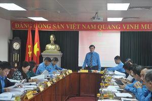 Khai mạc Hội nghị Đoàn Chủ tịch Tổng LĐLĐVN lần thứ Nhất (khóa XII)
