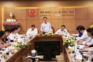 Ban Chỉ đạo T.Ư về phòng, chống tham nhũng làm việc tại Bộ Giáo dục và Đào tạo