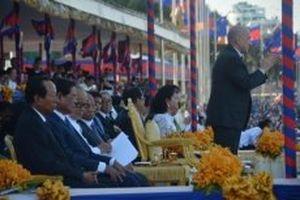 Campuchia khai mạc lễ hội đua thuyền truyền thống