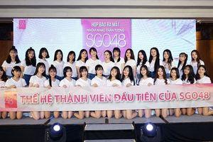 Ra mắt Nhóm nhạc thần tượng nữ SGO48 Việt Nam