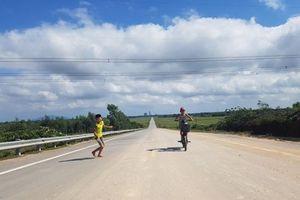 Hà Tĩnh: Đường nối tỉnh lộ 21 nối thành phố dang dở, không hẹn ngày về đích