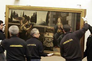 Ý xét lại thỏa thuận cho Pháp mượn tranh của Leonardo da Vinci